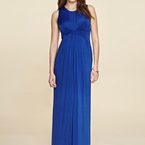 Isabella Oliver Gathered Detail Maxi Dress